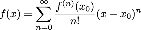 Taylor expansion formula