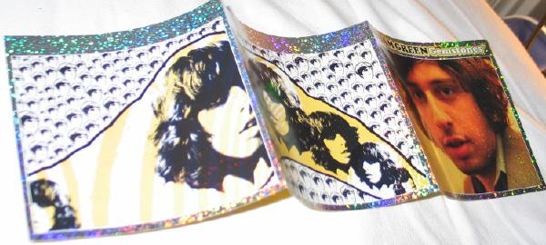 Shiny booklet of Gemstones CD