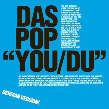 Das Pop You/Du single cover
