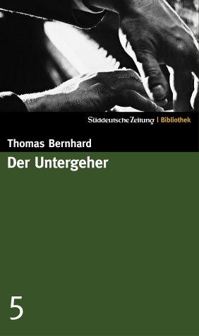 Book cover for Der Untergeher