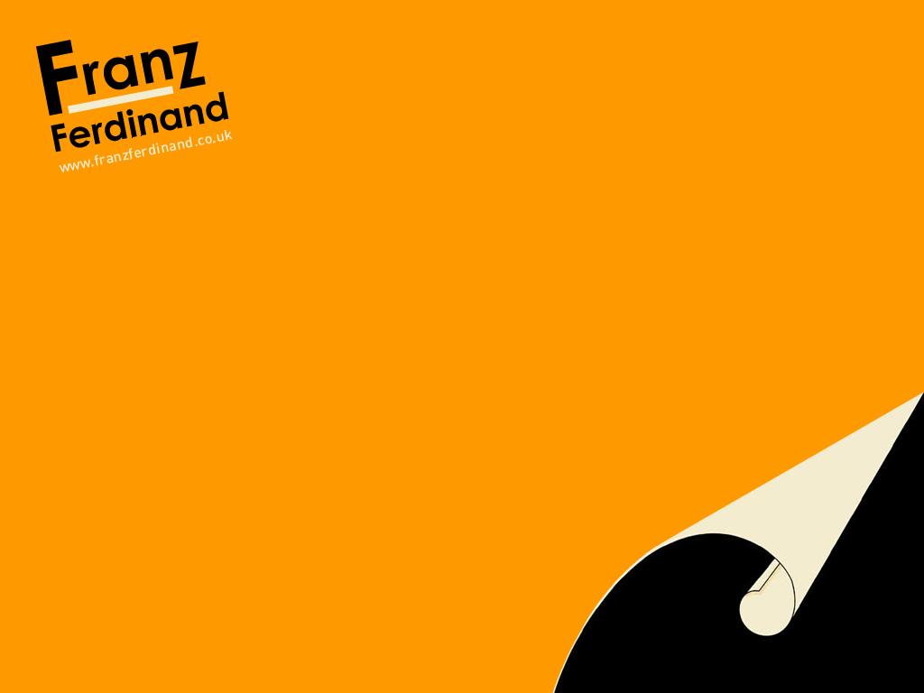 Franz Ferdinand desktop background