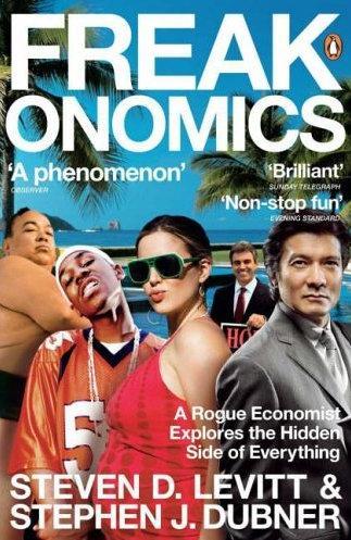 Freakonomics Cover Art