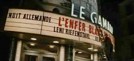 »Nuit Allemande« at the cinema in Inglourious Basterds