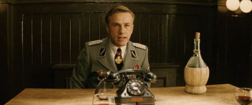 Hans Landa negotiating in the film