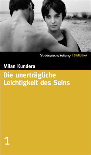 Cover of Milan Kundera's Unbearable Lightness of Being