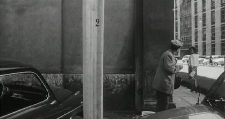 Number 2 seen in a scene of the film