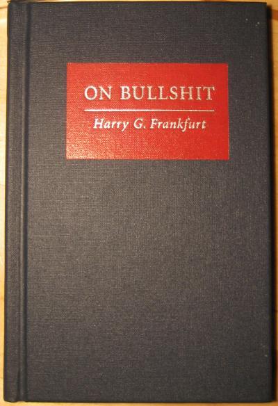 On Bullshit Book Cover