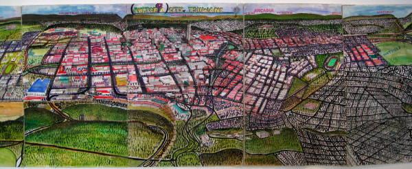 Part of the Pretoria map