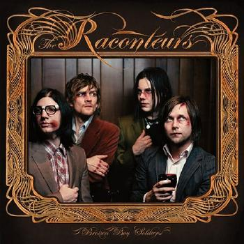 The Raconteurs – Broken Boy Soldiers cover art