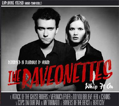 Raveonettes CD cover