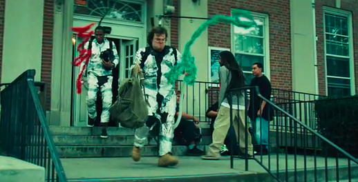 Ghostbusters in Be Kind Rewind