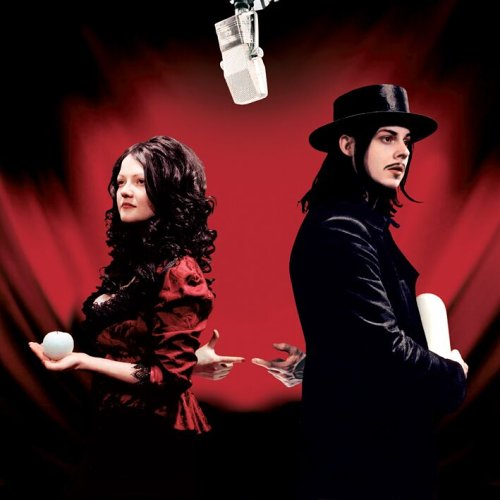 White Stripes Get Behind Me Satan Cover Art