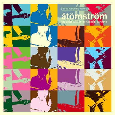 Cover of åtömström compilation record