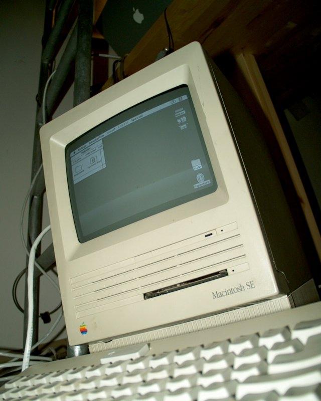 Nibbler, my Mac SE